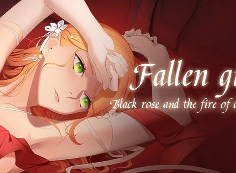 Fallen girl - Black rose and the fire of desire